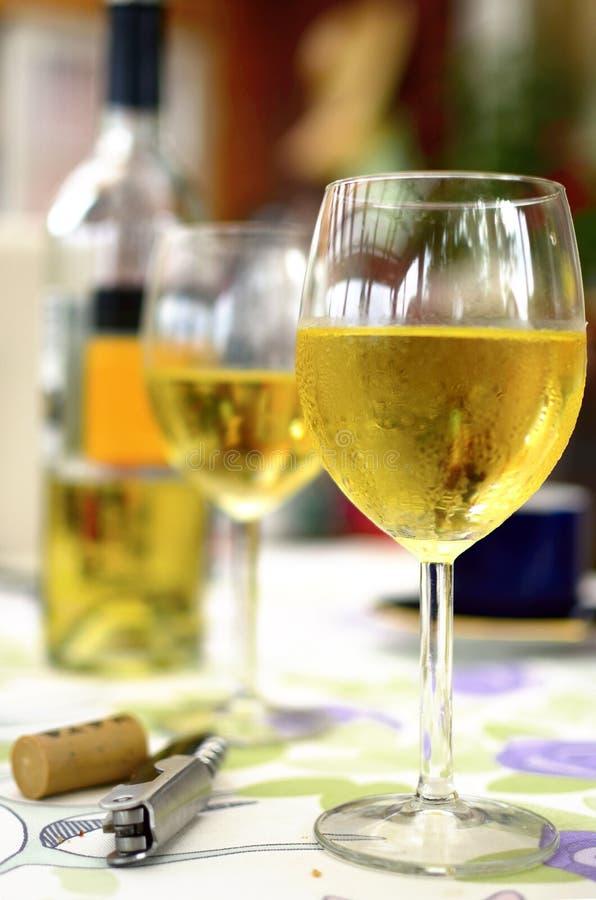 Glace de la vigne blanche photographie stock