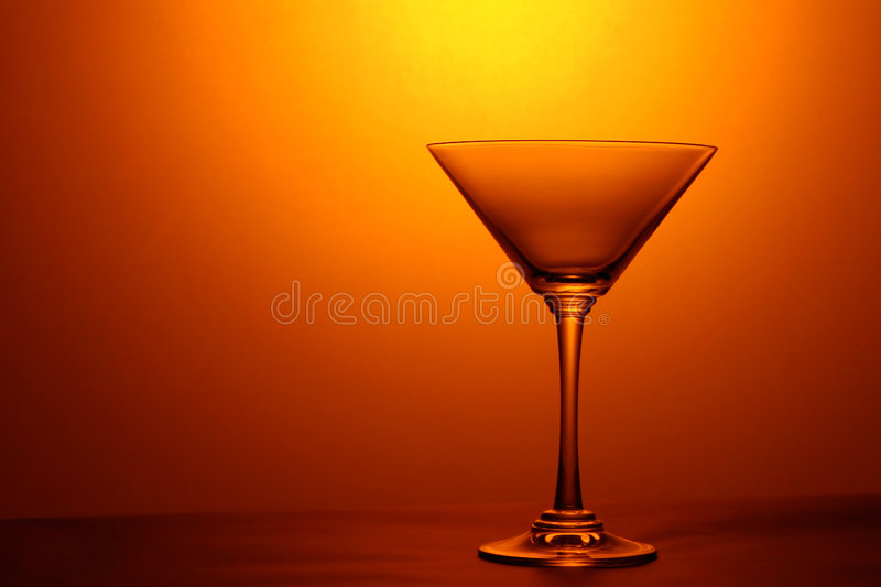 Glace de Martini images stock