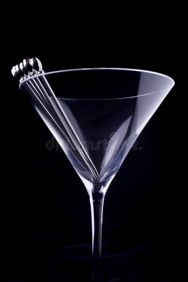 Glace de Martini photo stock