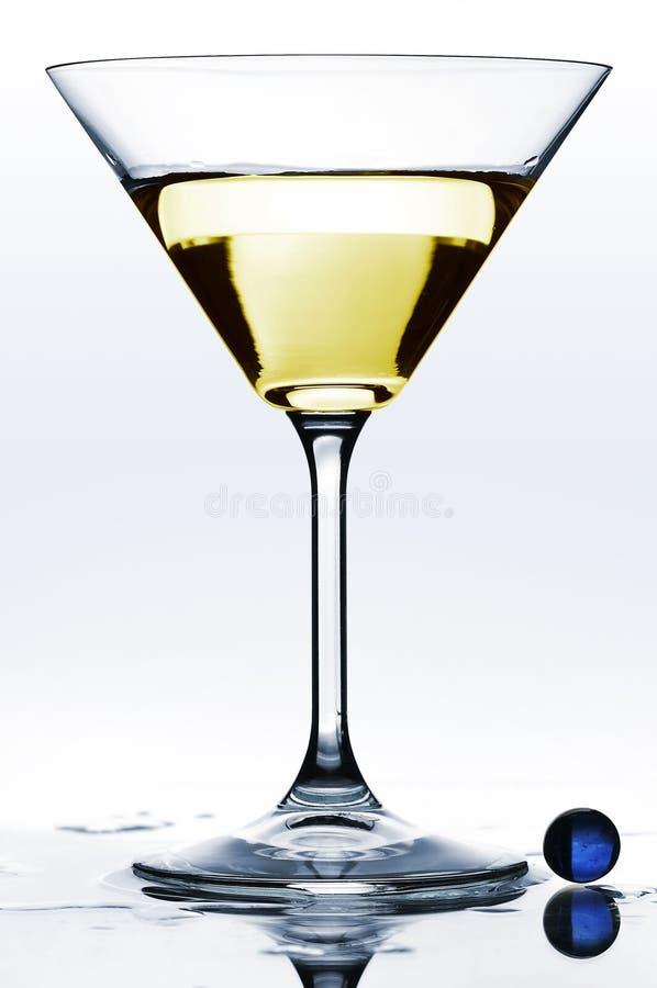 Glace de Martini photographie stock