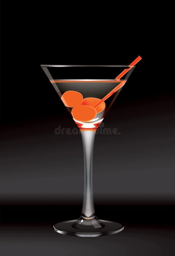 Glace de Martini illustration libre de droits