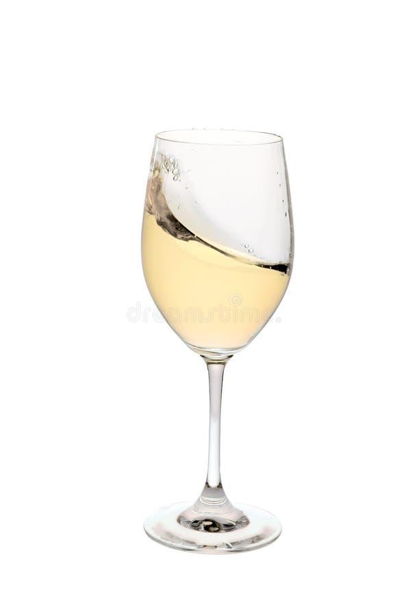 Glace de vin photographie stock libre de droits