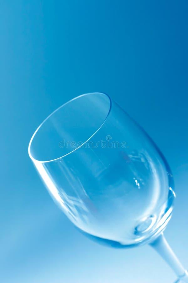 Glace de vin vide image libre de droits