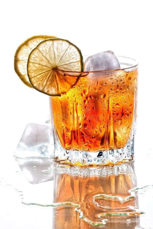 Glace de whisky écossais images libres de droits