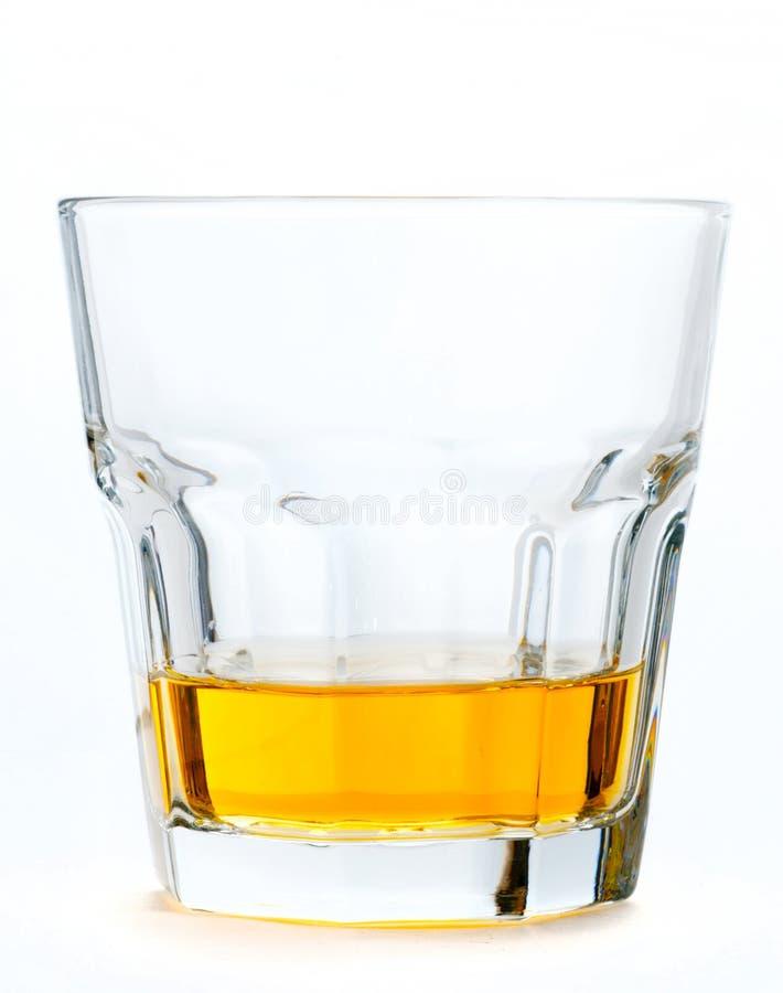 Glace de whisky écossais image stock