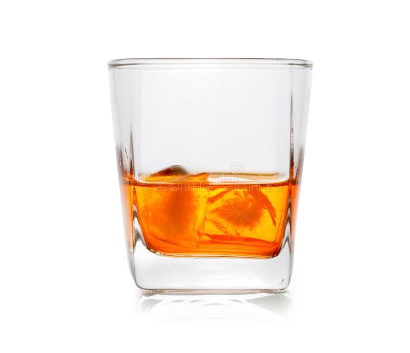 Glace de whisky écossais photographie stock libre de droits