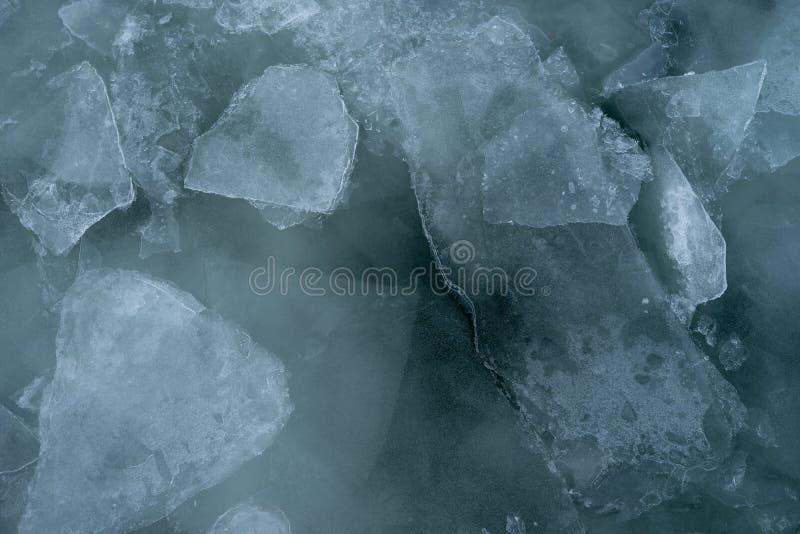 Glace du lac Supérieur photo libre de droits