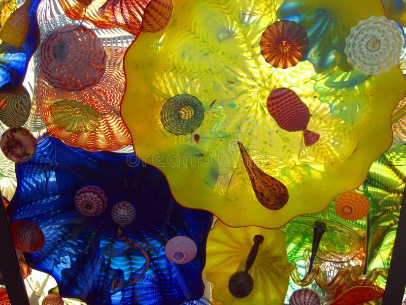 Glace enflée photo libre de droits