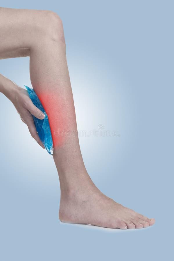jambe gonflée douloureuse