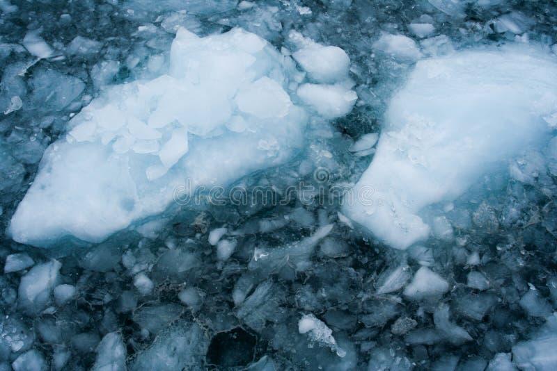 Glace glaciaire images libres de droits