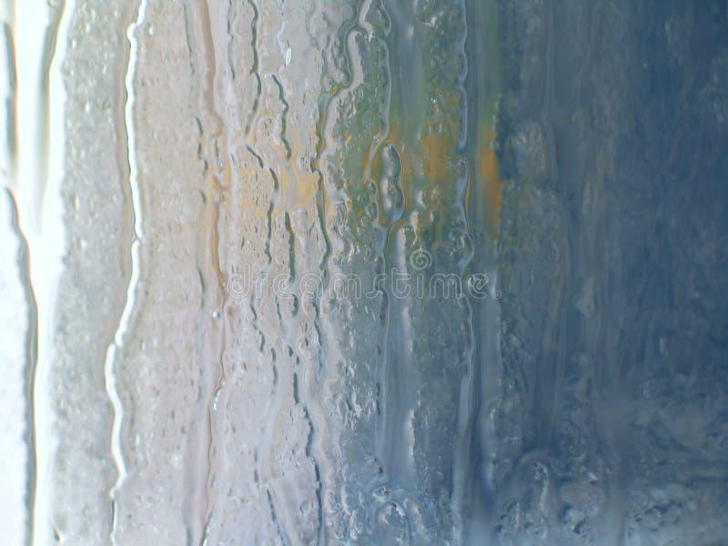 Glace humide Fuites de l'eau Jour pluvieux photo libre de droits