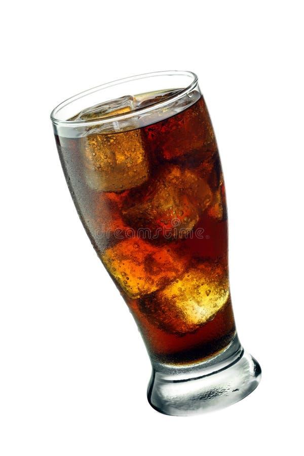 Glace inclinée de kola images stock