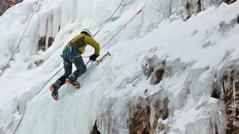 Glace s'élevant au Tyrol du sud, Italie photo libre de droits