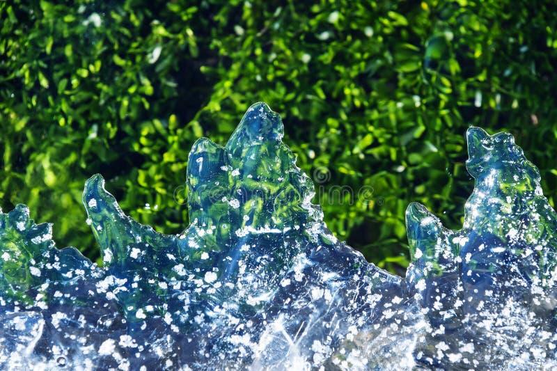 Glace sur une rivière photo libre de droits