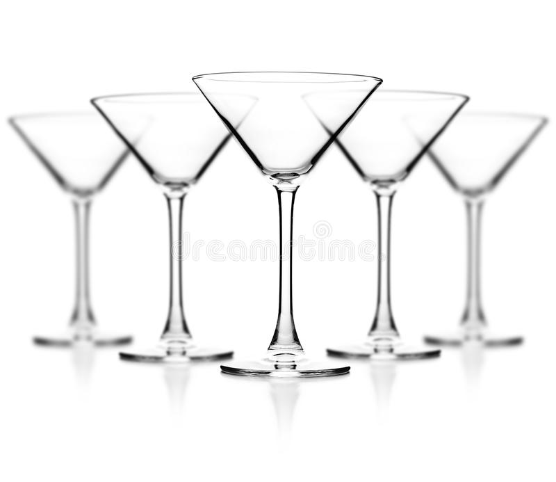 Glace vide de cocktail photo libre de droits