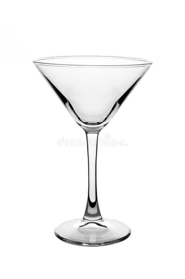 Glace vide de martini photo libre de droits