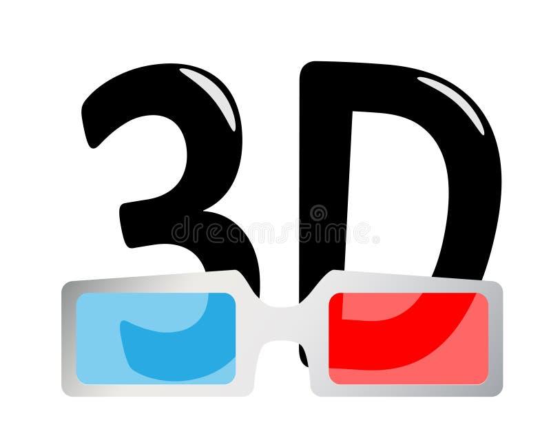 glaces 3D illustration libre de droits