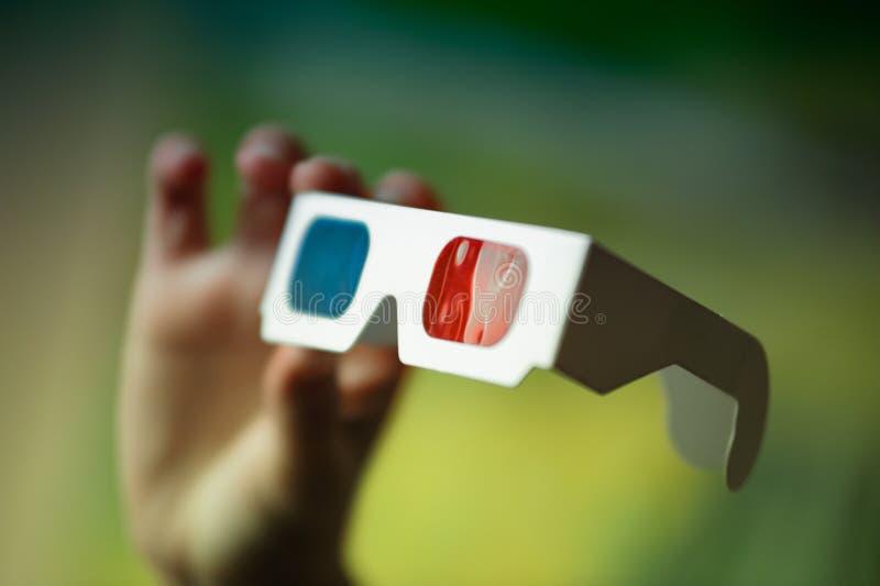 glaces 3D disponibles photographie stock