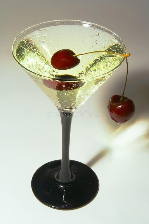 Glaces avec des cocktails photo libre de droits