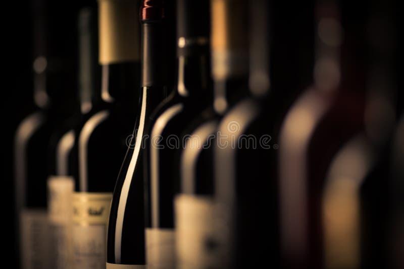 Glaces avec du vin photo stock