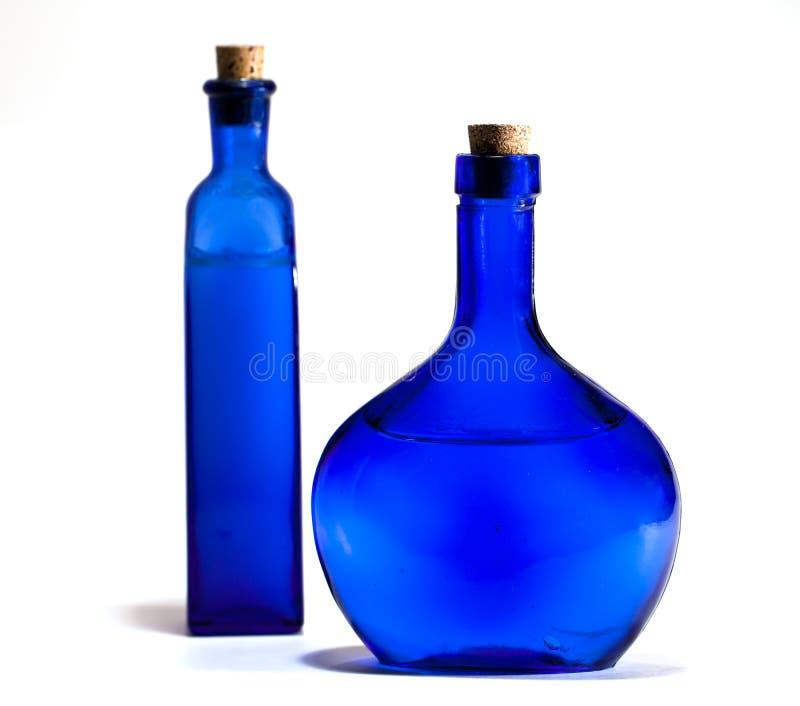 Glaces bleues photo stock