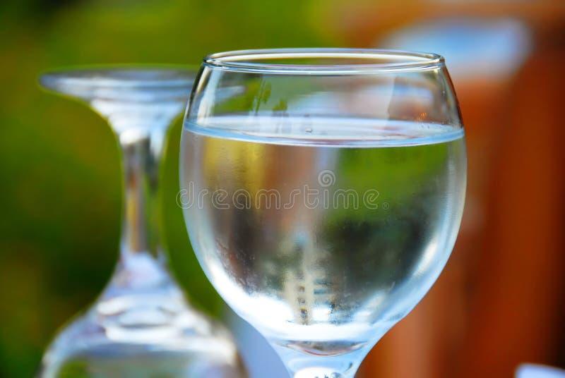Glaces d'eau photo libre de droits