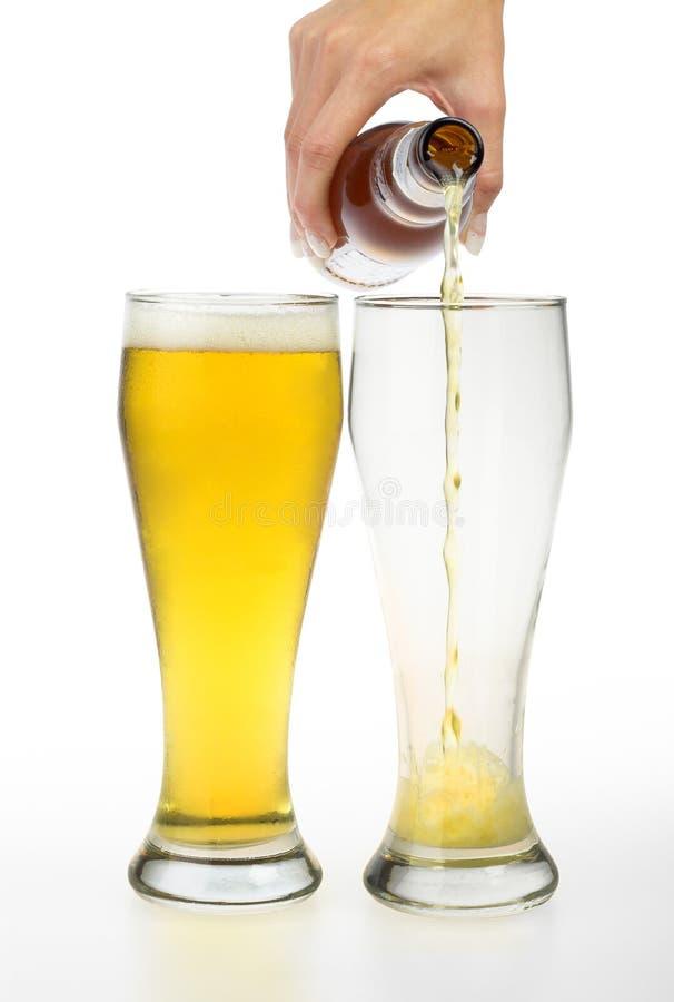 Glaces de bière image stock