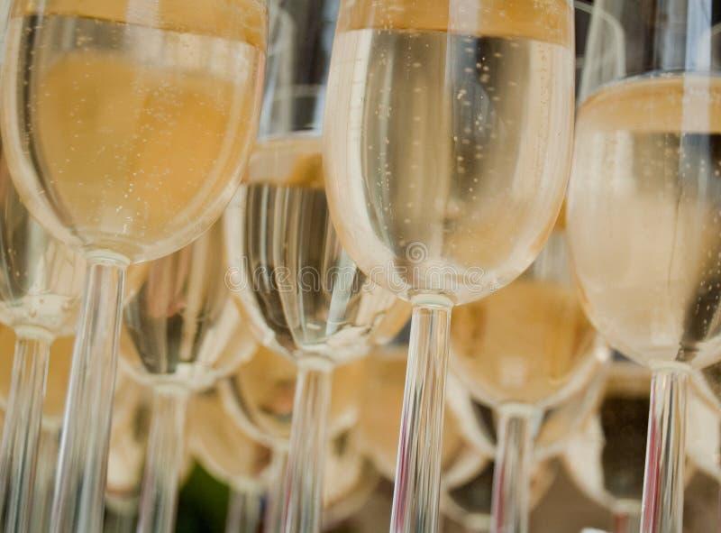 Glaces de Champagne image libre de droits