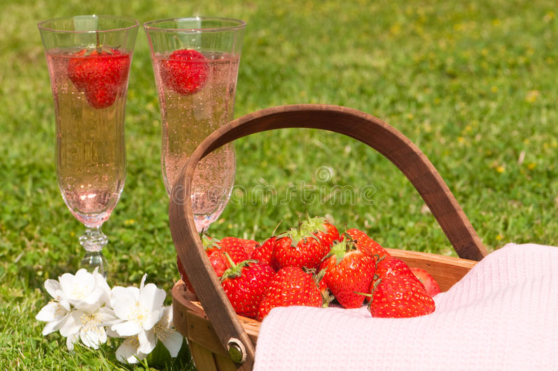 Glaces de Champagne photos libres de droits