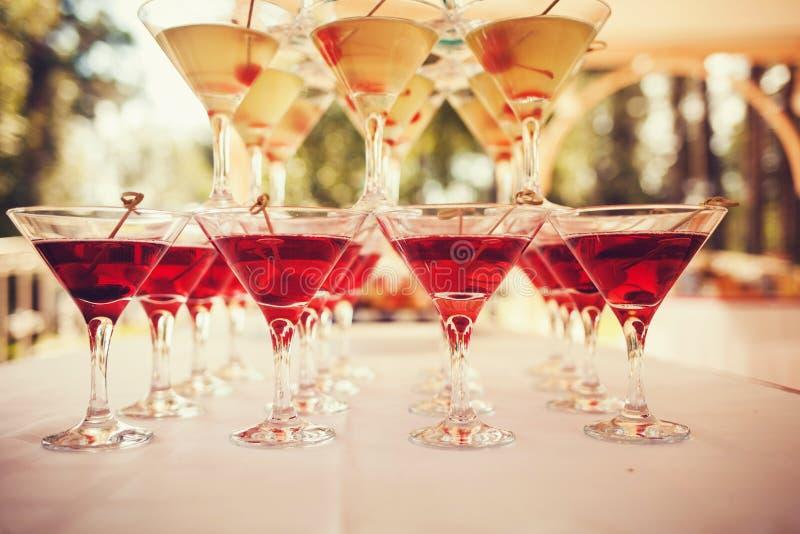 Glaces de cocktails photo libre de droits