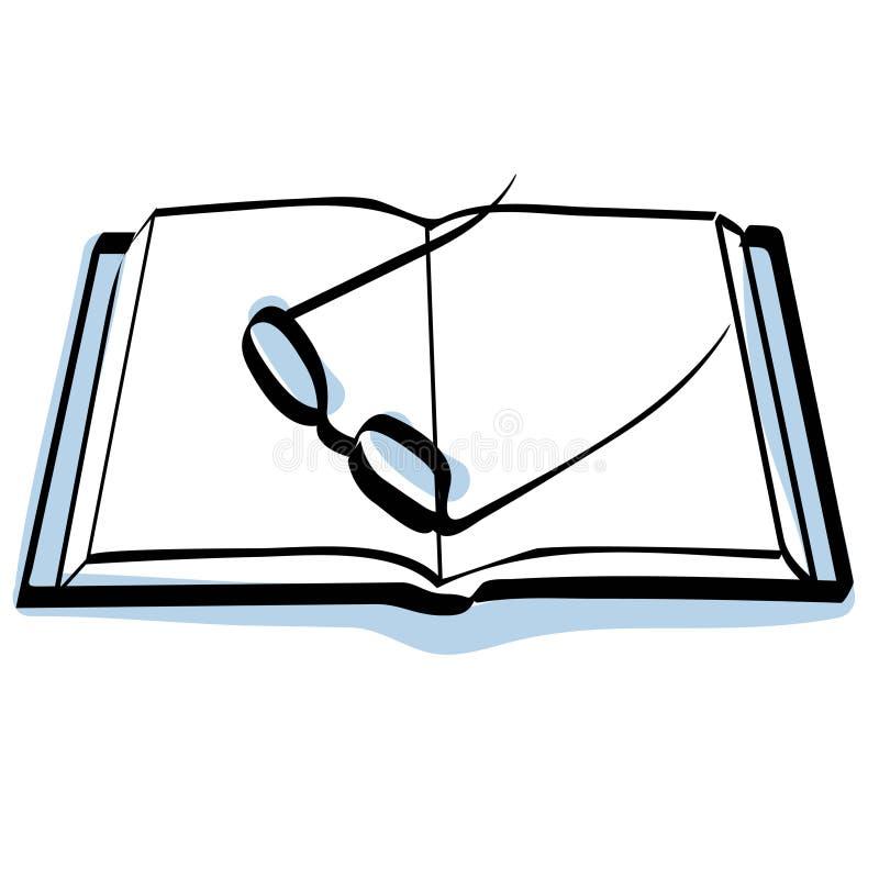 glaces de livre illustration libre de droits