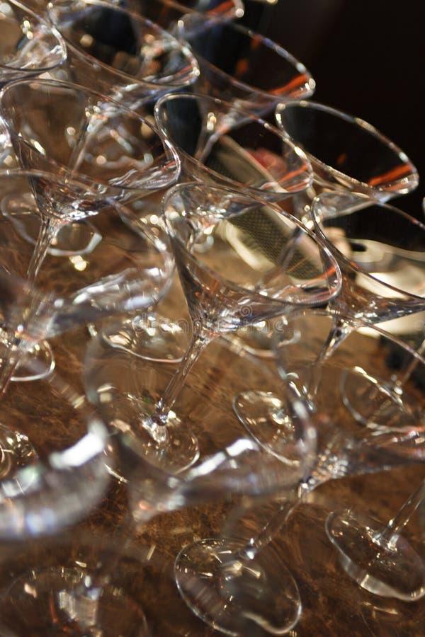 Glaces de Martini photographie stock
