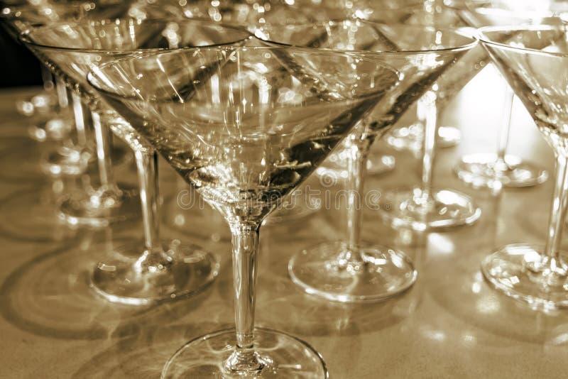 Glaces de Martini images libres de droits