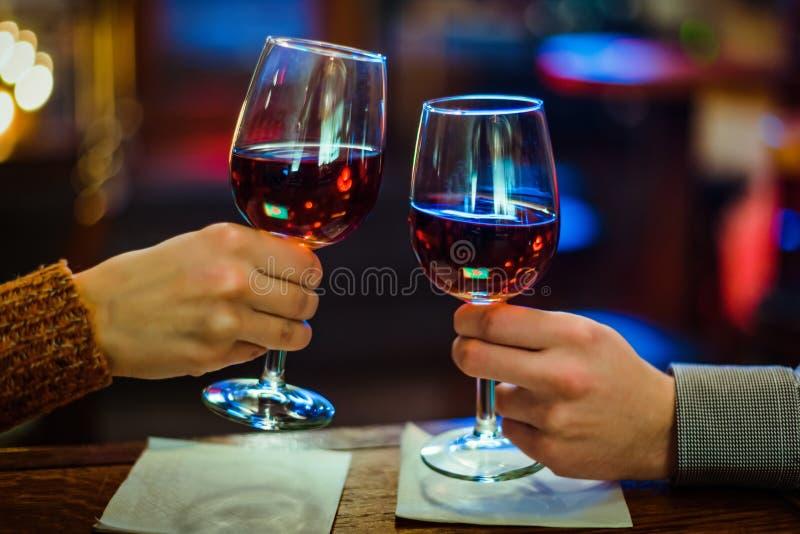 Glaces de vin disponibles photos libres de droits
