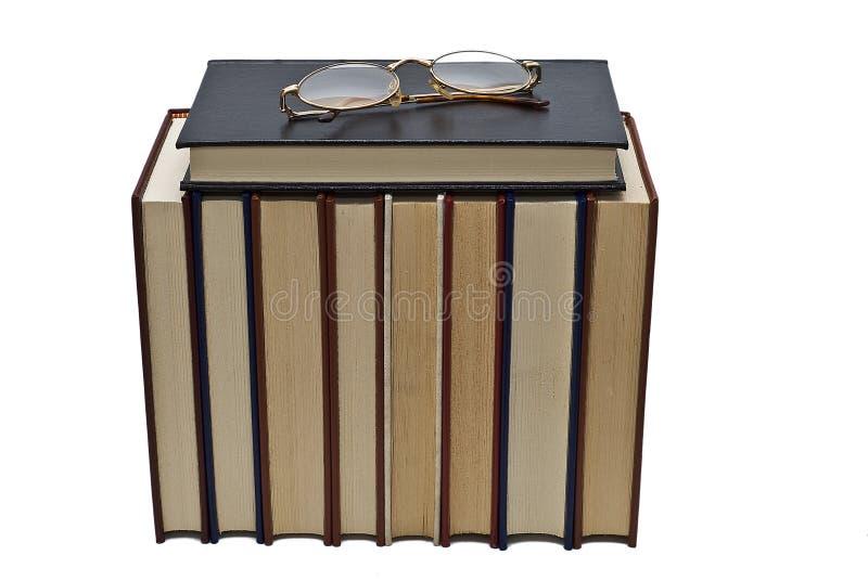Glaces et livres. photo libre de droits
