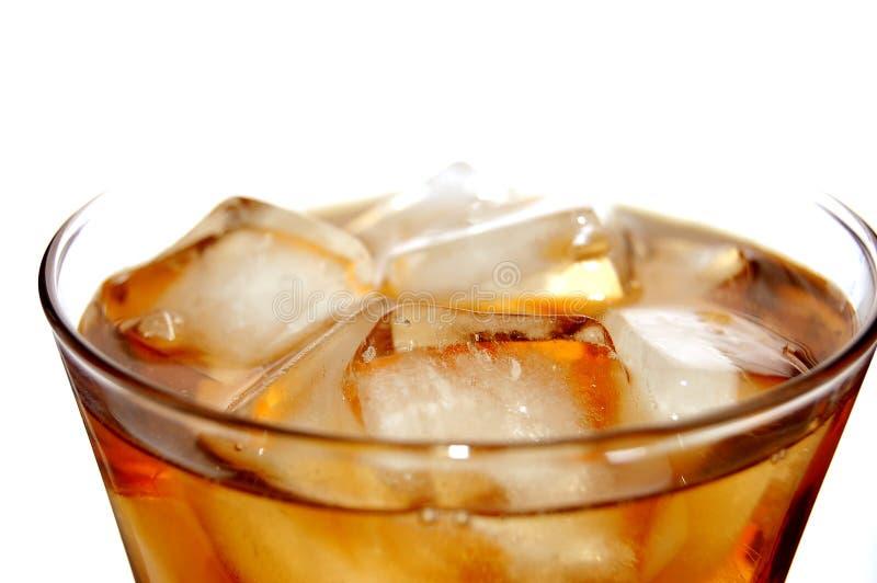 Glacez la boisson non alcoolique remplie photos stock