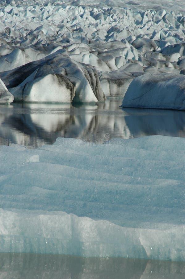 glaciär arkivfoton