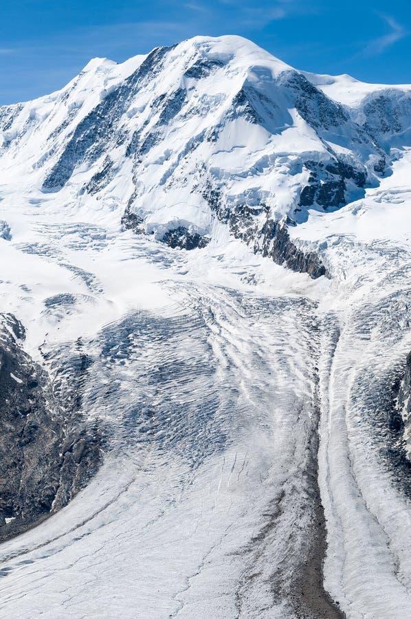 glaciär arkivbild