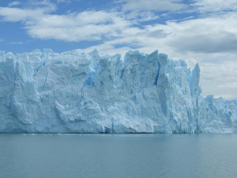 glaciär en royaltyfria foton