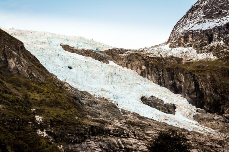 Download Glaciär i norska berg arkivfoto. Bild av frost, globalt - 78726610