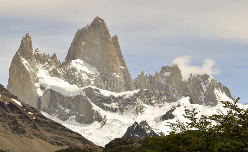 GLACIÄR OCH GLOBAL UPPVÄRMNING PERITO MORENO I PATAGONIA ARGENTINA FÖR EL CALAFATE royaltyfria foton