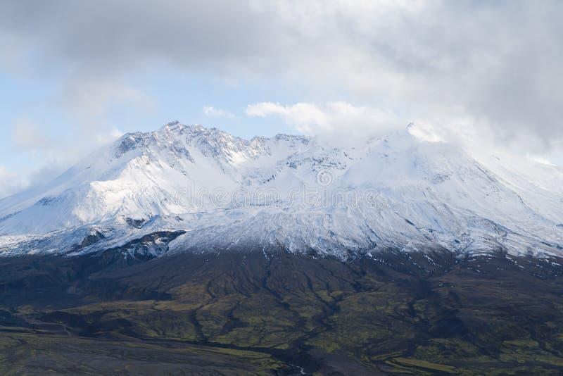 glaciärhelens monterar saintöverkanten arkivbild