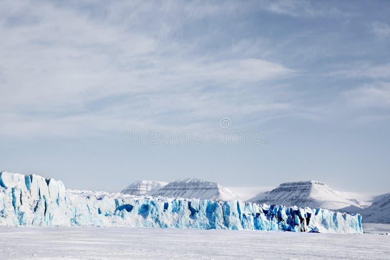 glaciärliggande royaltyfri bild