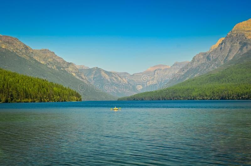 glaciärmontana nationalpark USA arkivfoto