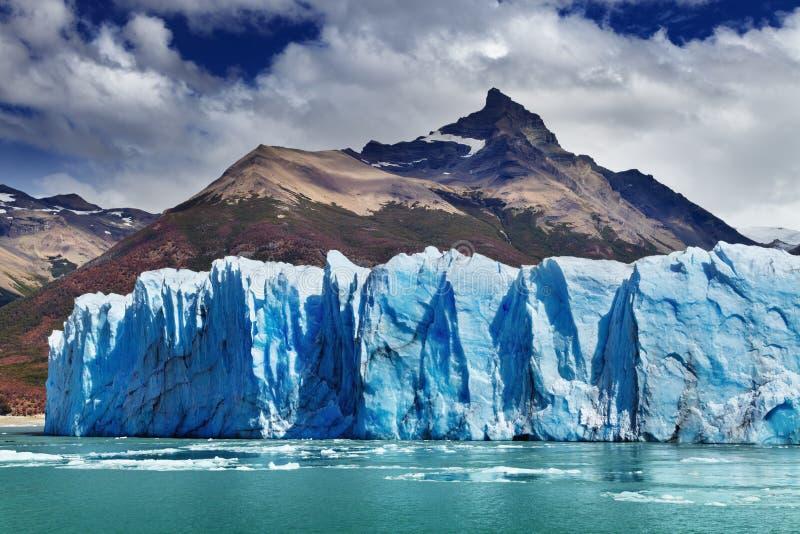glaciärmoreno perito royaltyfria bilder