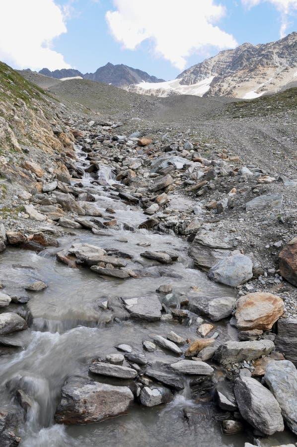 glaciärsmältning arkivbilder