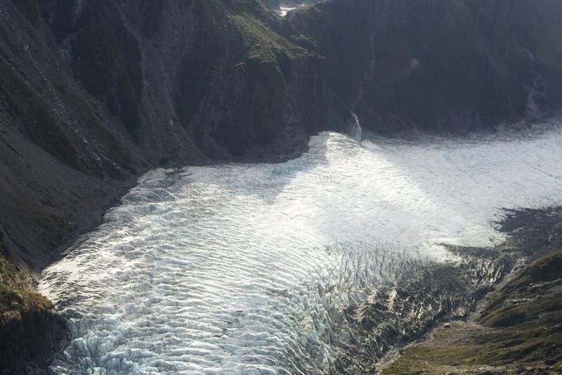 glaciärsun royaltyfri bild