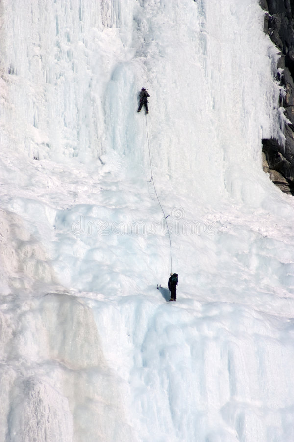Glaciéristes. images libres de droits