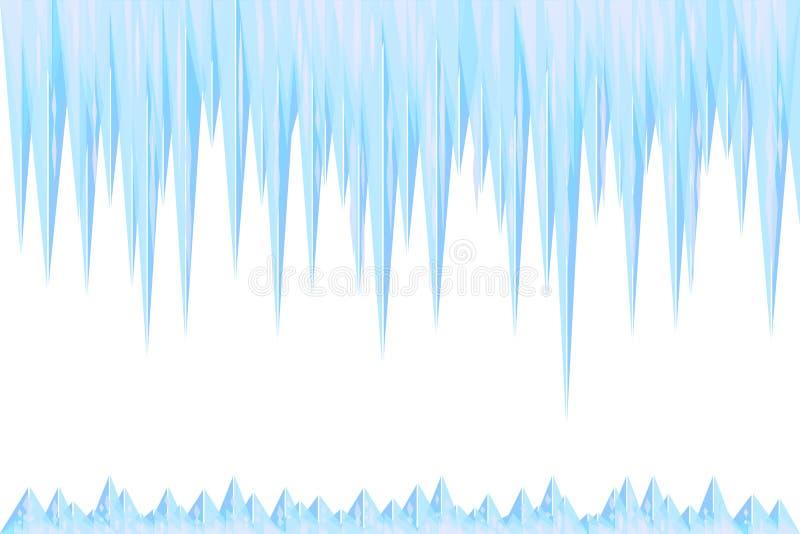 Glacial illustration libre de droits