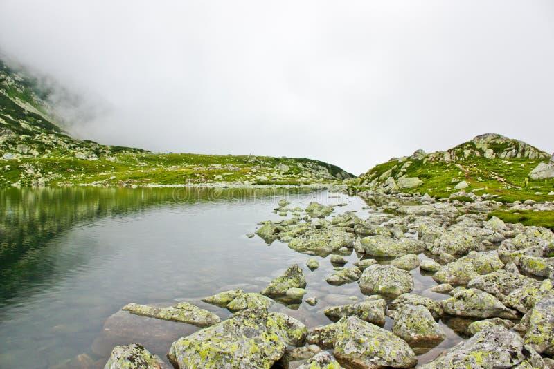 Glacial lake royalty free stock photography